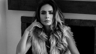 Johanna Fadul se descuidó y ensenó ropa íntima