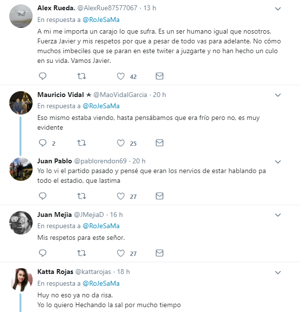 Reacciones de twitteros al supuesto al estado de salud de Javier Hernández Bonnet