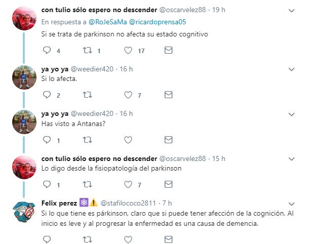 Debate sobre el futuro profesional de Javier Hernández Bonnet