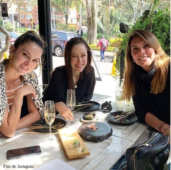 Mónica Rodríguez, Flavia Dos Santos y Catalina Gómez