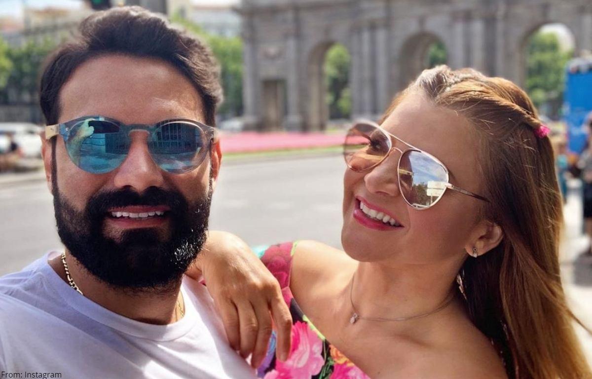 Atrevidas fotos de Diva Jessurum y su novio generan debate