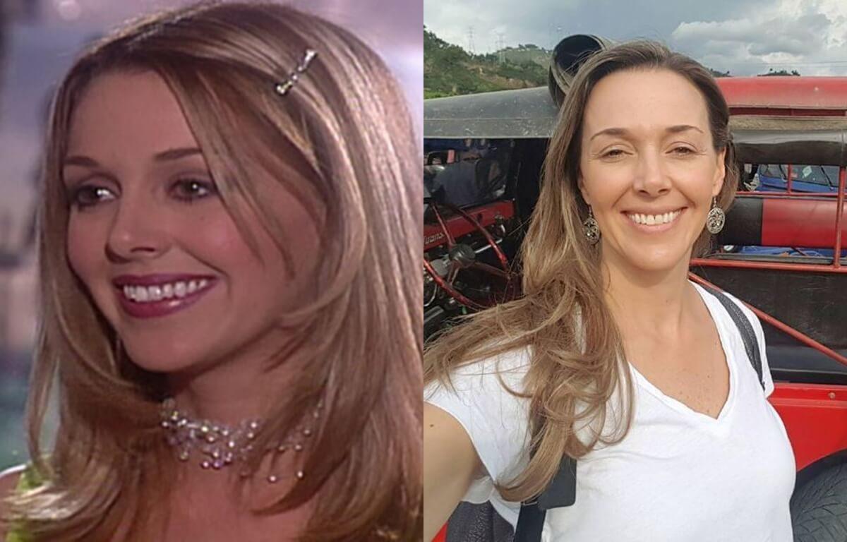 Antes y después de Claudia Helena Vásquez