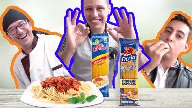 Doria vs San Remo, ¿cuál marca de pasta es mejor?