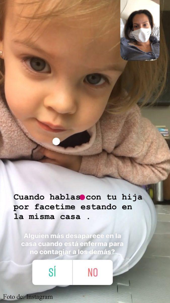 La encuesta de Laura Acuña en su cuenta de Instagram