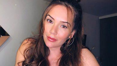 Lina Tejeiro incendió las redes con sensual vestido escotado