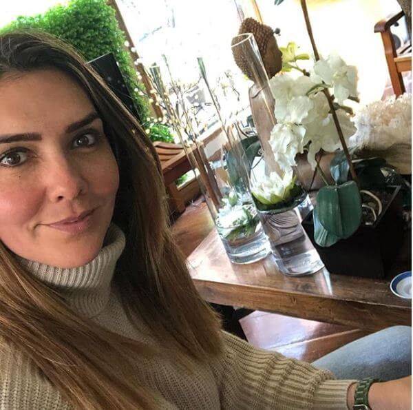 Foto de Mónica Rodríguez sin maquillaje