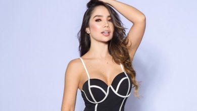 Paola Jara calentó las redes con su línea de ropa