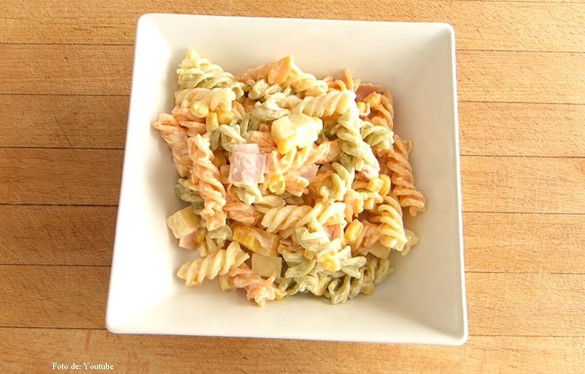 Recetas de pasta muy fáciles para preparar
