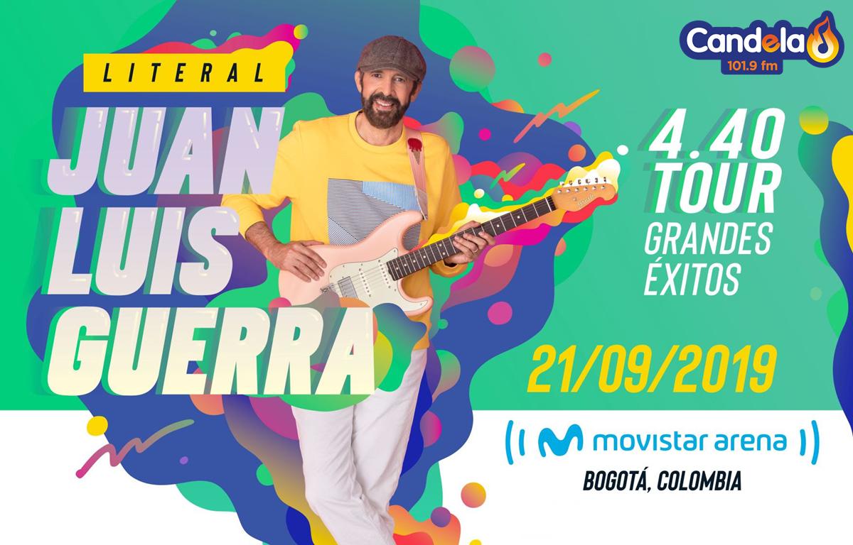 Juan Luis Guerra en Bogota