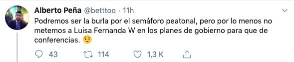 Comentario de Alberto Peña