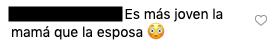 Comentario contra la esposa de Jessi Uribe