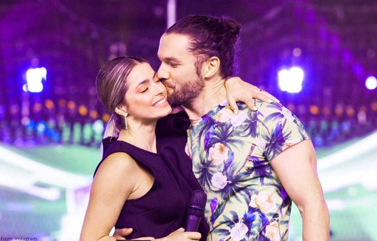 Fogosas muestras de amor de Cristina Hurtado y Josse Narváez