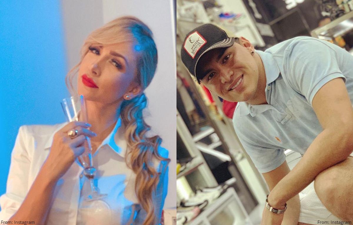 """Lady Yuliana revela foto de Yeison Jiménez de """"pelaíto"""""""
