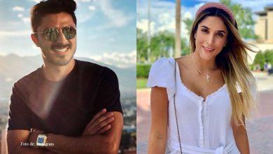 Las muestras de amor entre Daniela Ospina y Harold Jiménez