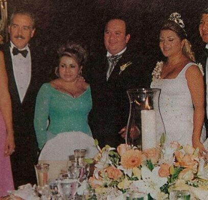 Marbelle y Royne Chávez