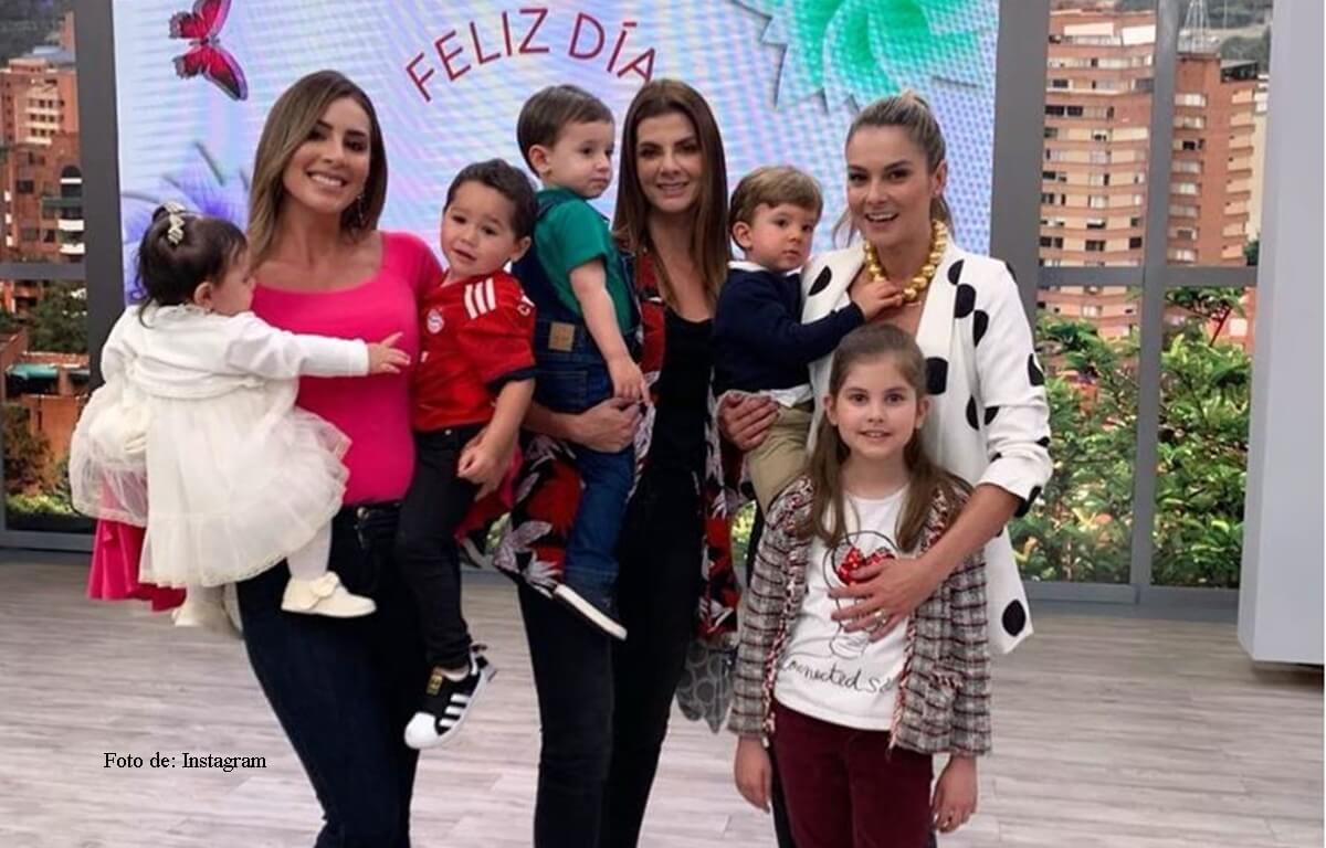Presentadoras de Día a Día se toman foto sin Carolina Cruz