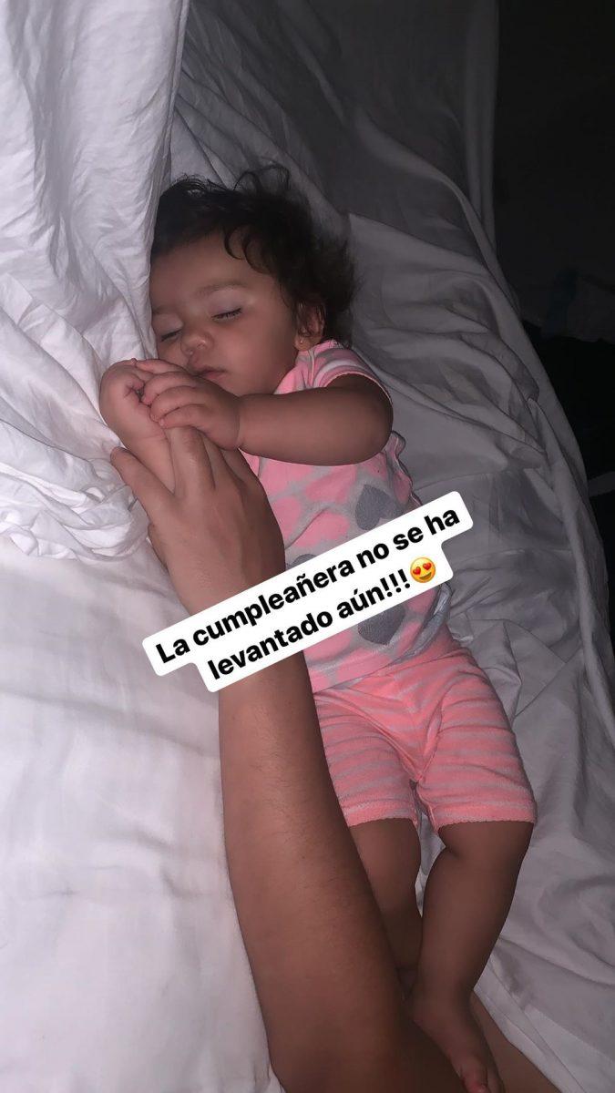 Violetta, la hija de Carolina Soto