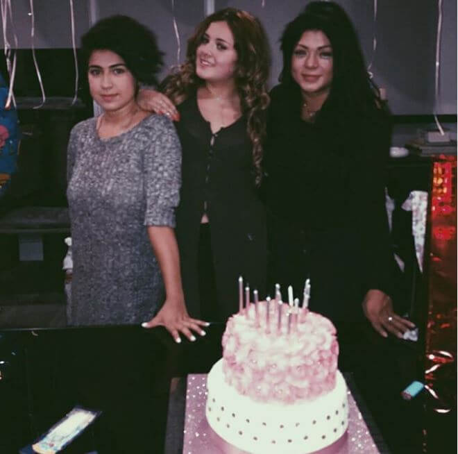 Marbelle con su hija Angie Cardona y Rafaella