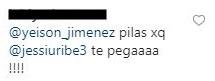 comentario a Yeison Jiménez de Jessi Uribe