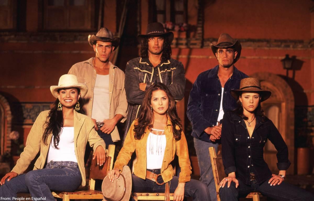 Furor por inédito reencuentro de actores de Pasión de Gavilanes