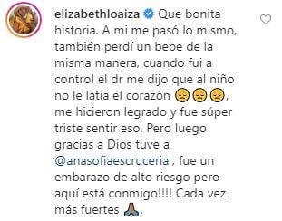 Comentario de Elizabeth Loaiza