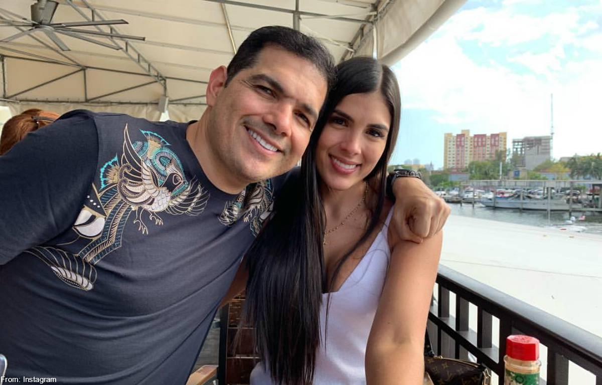 Esposa de Peter Manjarrés mostró duro golpe que le dio en la cola