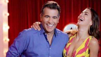La coqueta pose de Valerie Domínguez con Carlos Calero