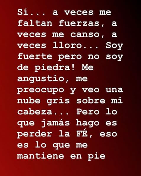Mensaje de Mónica Rodríguez