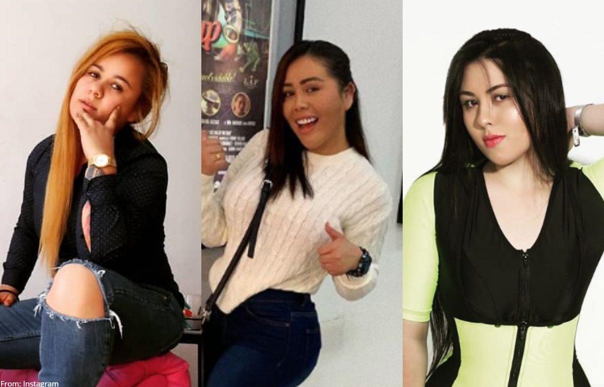 Yina Calderón bailó curiosamente con sus hermanas en pijama