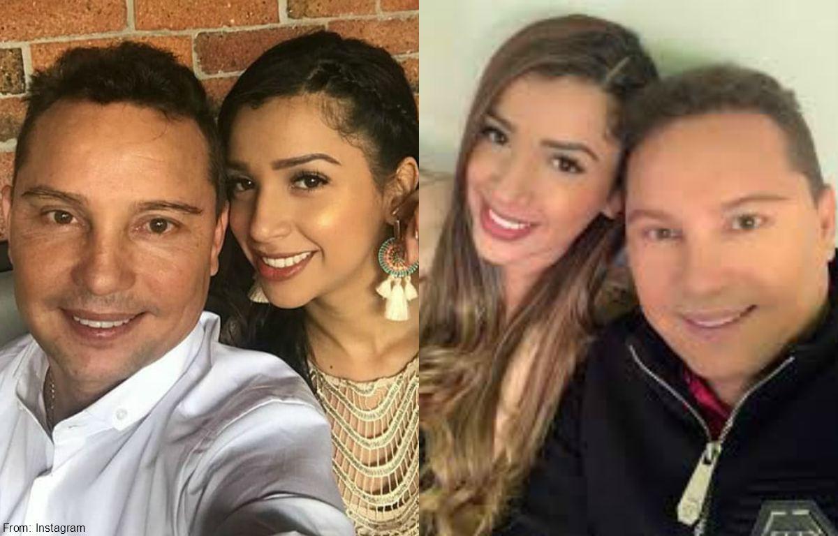 Giovanny Ayala finalizó su historia de amor con su esposa