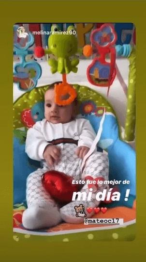 Sorpresa de Malina Ramírez a Mateo Carvajal