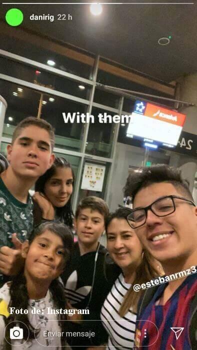 Andreina Fiallo con sus hijos se van para donde Fredy Guarín