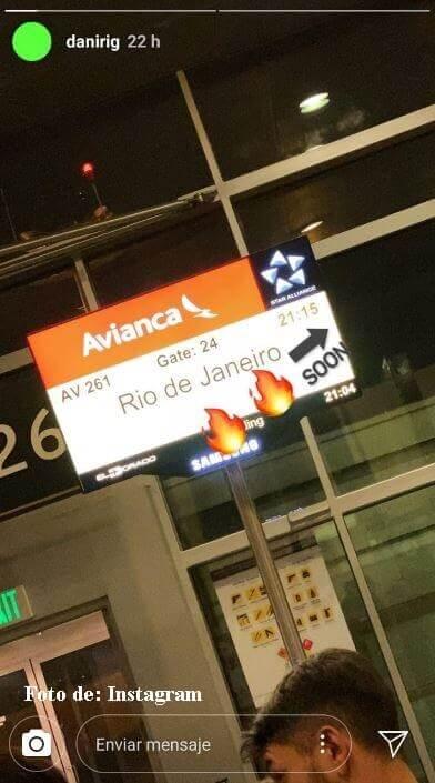 Hijo de Guarín viaja a Brasil
