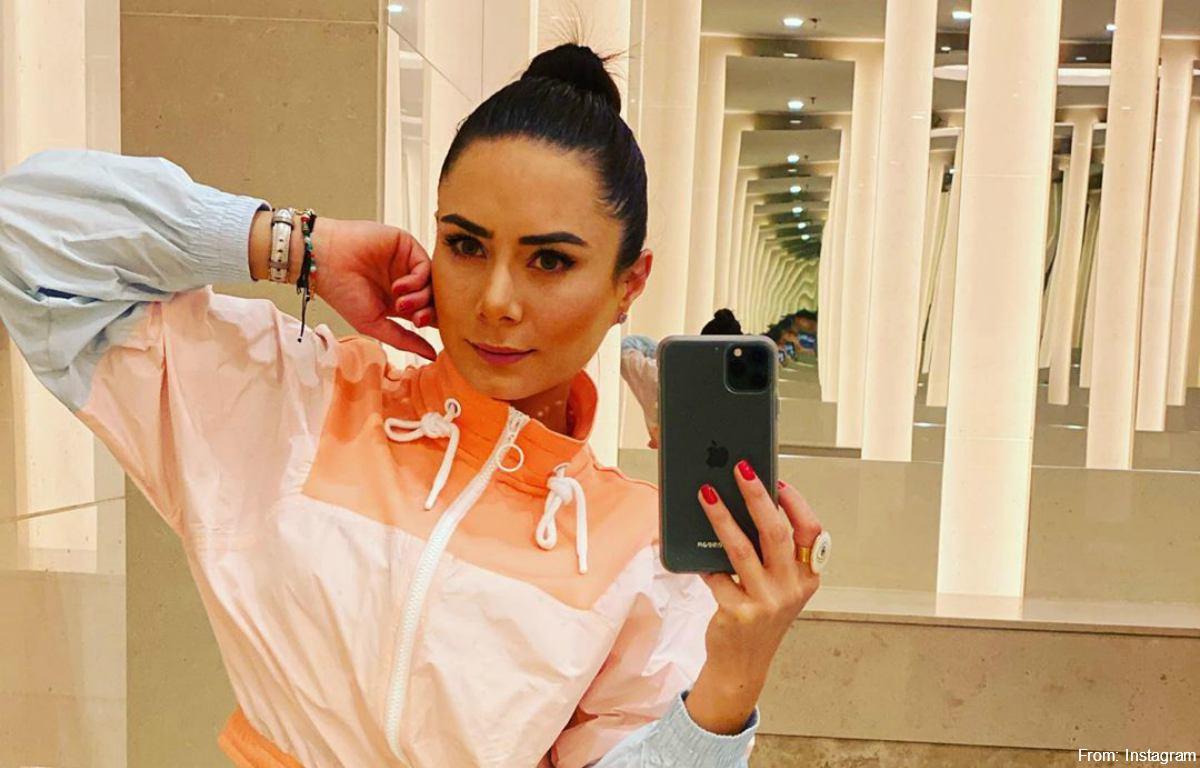 Johanna Fadul se unió a las protestas a su modo: sin ropa