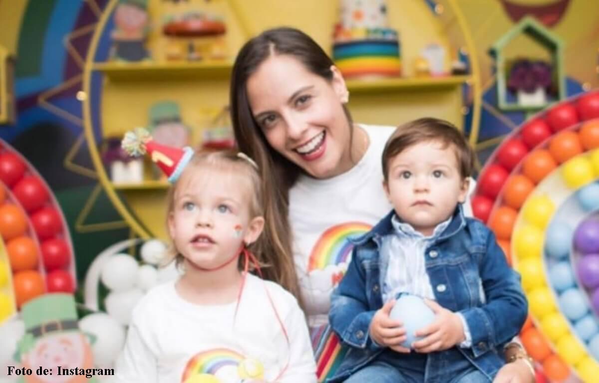 Laura Acuña respondió si quiere más uno de sus hijos