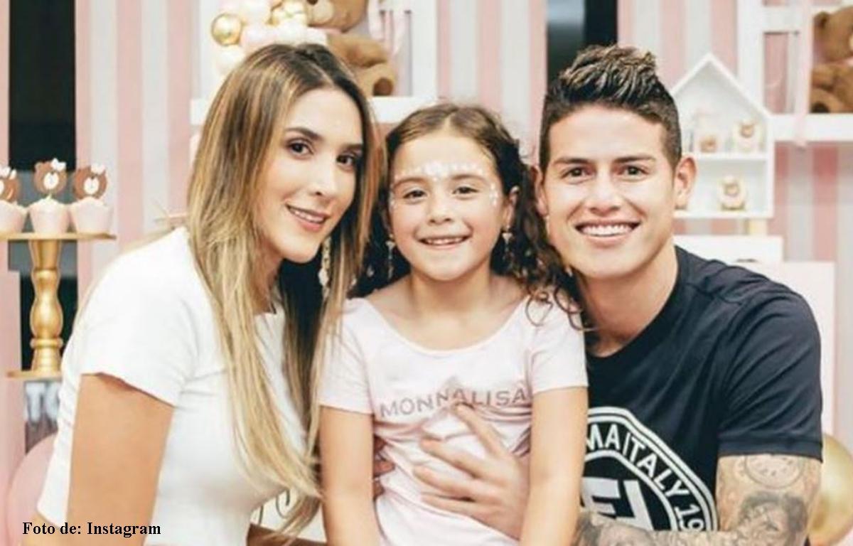 Video de Daniela Ospina y Salomé con James Rodríguez
