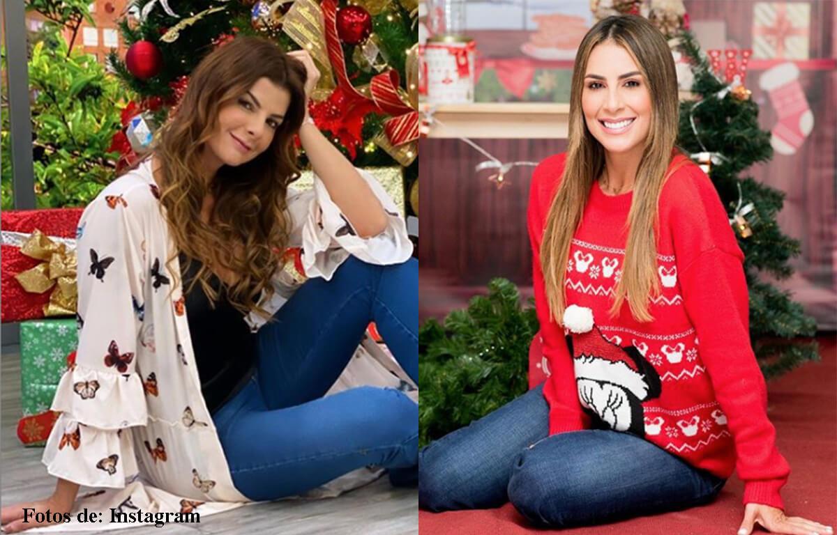 Antes y después de las presentadoras de Día a Día