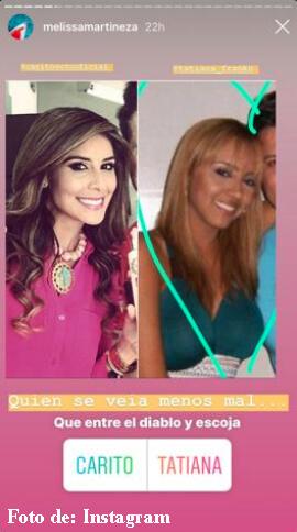 Antes y después de Carolina Soto y Tatiana Franco