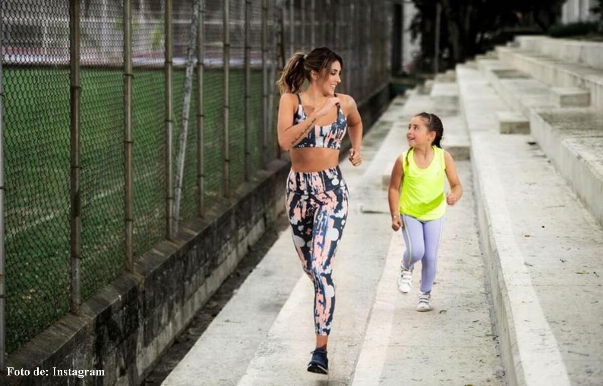 Daniela Ospina y Salomé enamoraron las redes en pijama