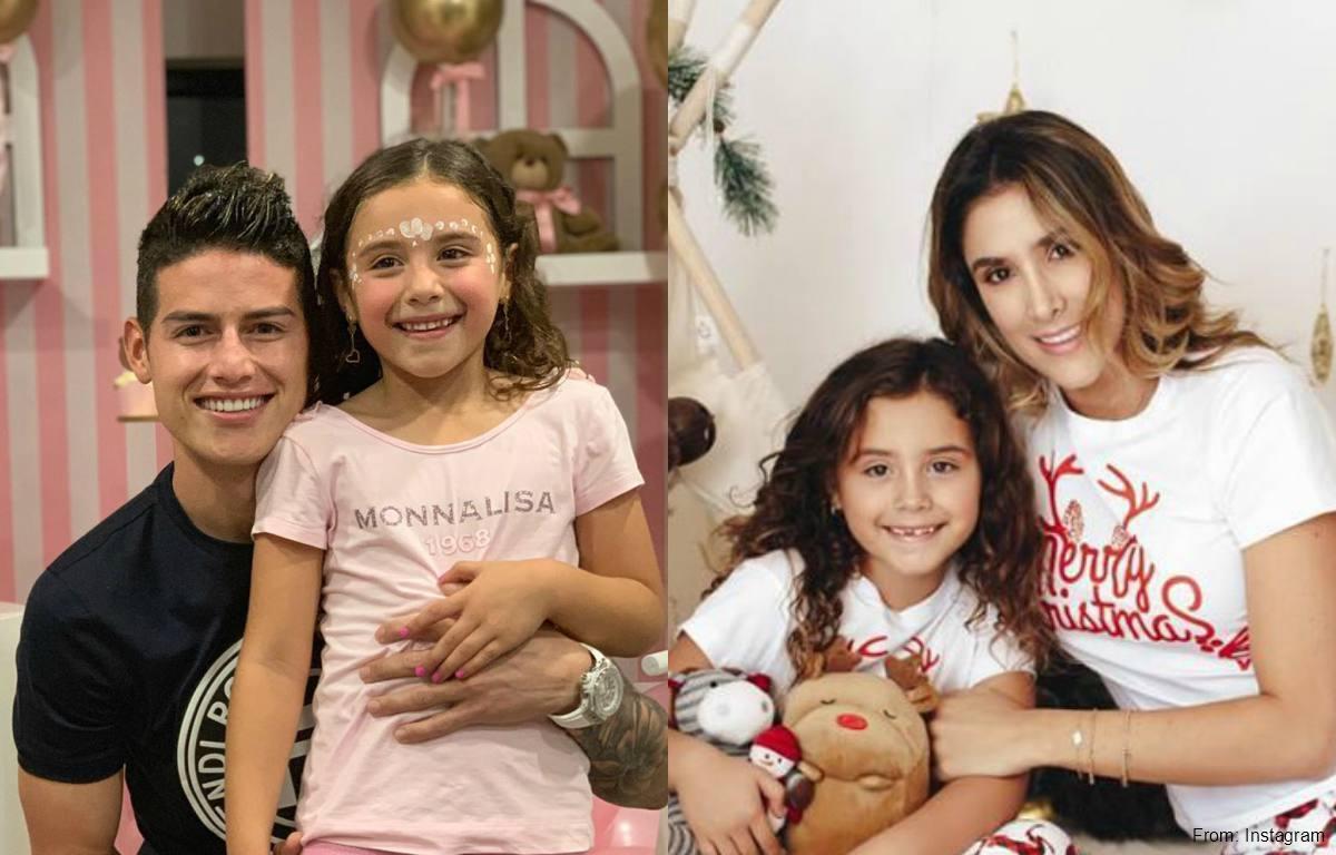 James Rodríguez y Daniela Ospina dividirán Navidad de Salomé