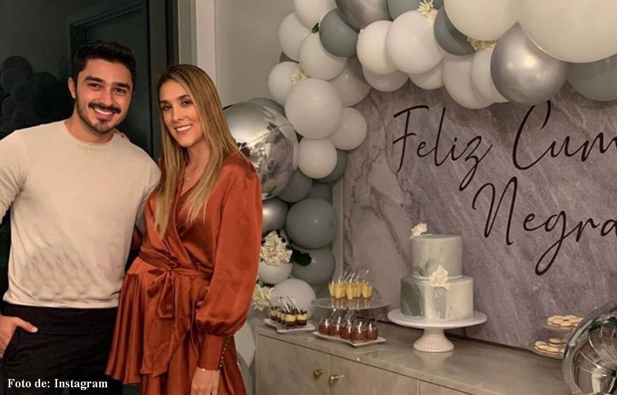 Las vacaciones de Daniela Ospina con Harold Jiménez