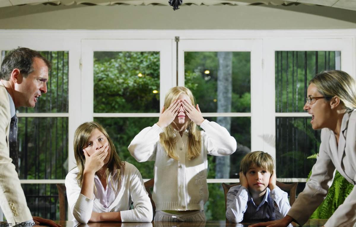 Consejos para solucionar las peleas entre familia