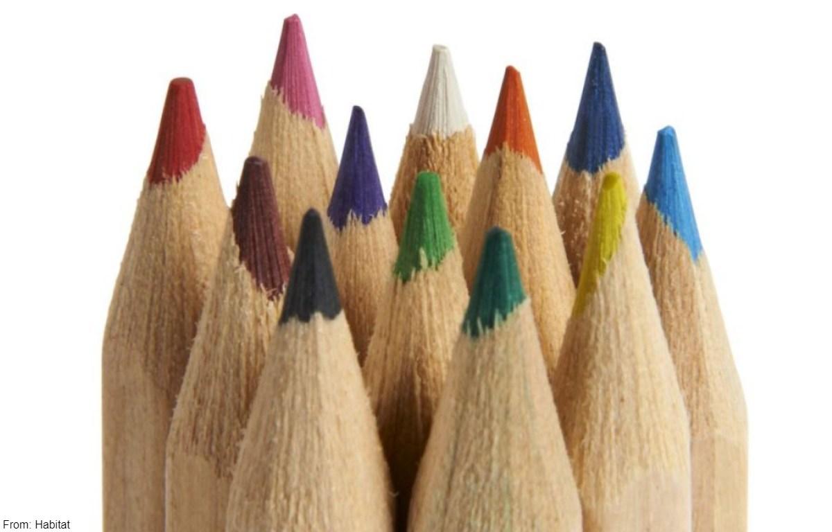 Curiosidades sobre los lápices de colores
