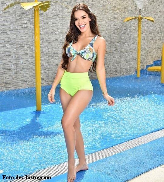 Elianis Garrido en Bikini