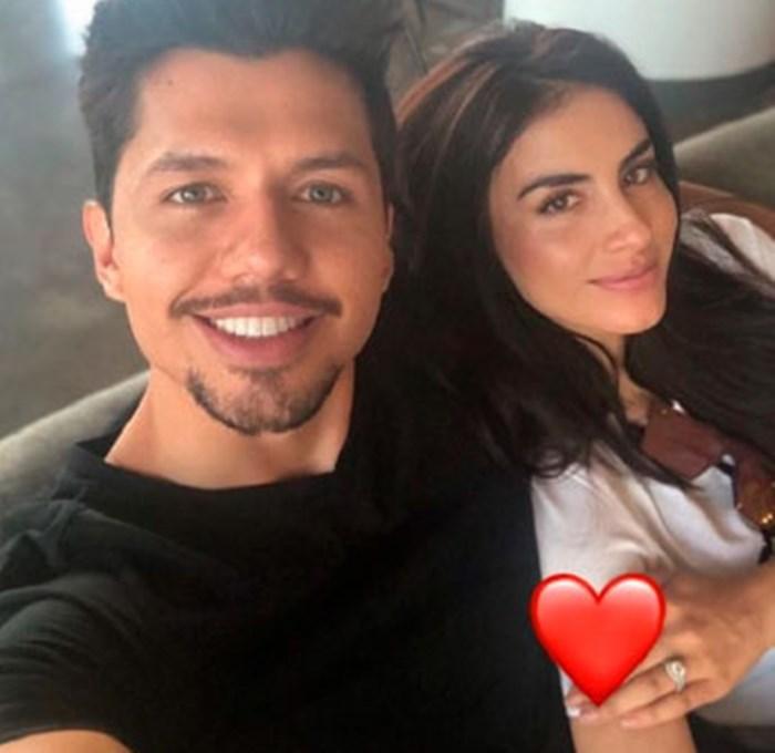 Jessica Cediel y Leo Sarria