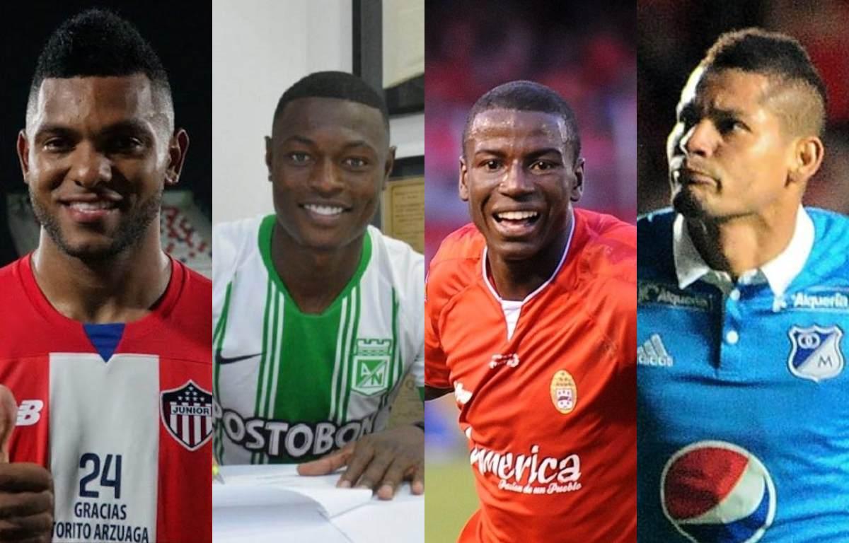 Los mejores refuerzos del fútbol colombiano para el 2020