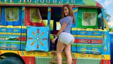 Yina Calderón provocó a sus seguidoras con foto en lencería