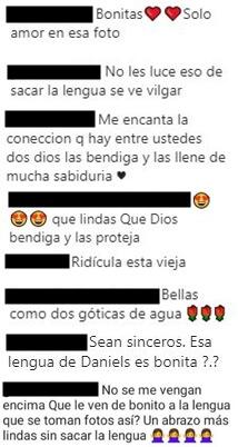 Comentarios a la foto de Daniela Ospina y Salomé