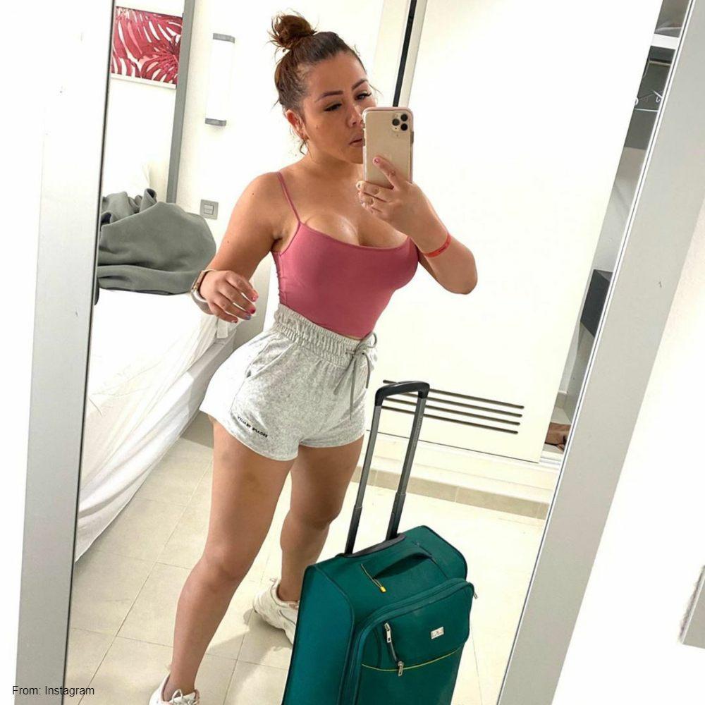 Yina Calderón disfruta de sus vacaciones en Panamá