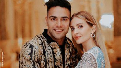 Falcao y su esposa esperan su cuarto bebé y comparten el momento